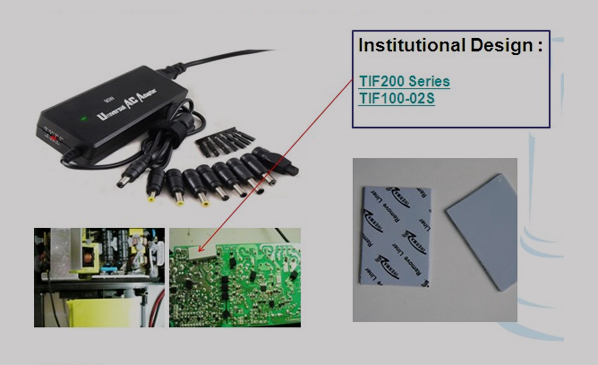TIF导热硅胶片|导热绝缘片应用于Server Power电源转换器