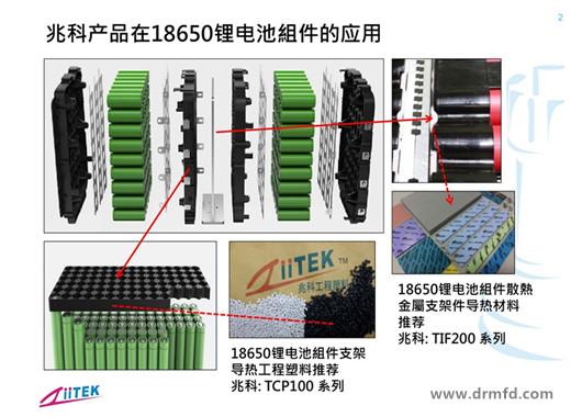 导热塑料应用锂电池组件支架