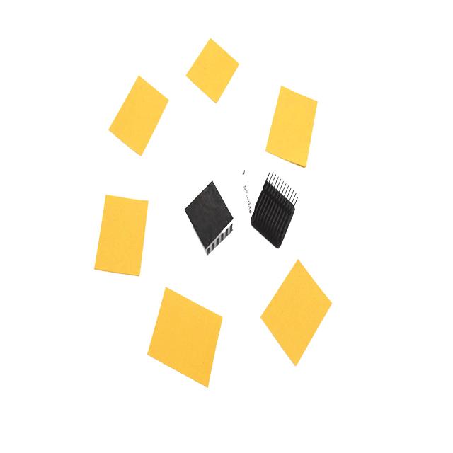 黄色导热矽胶布