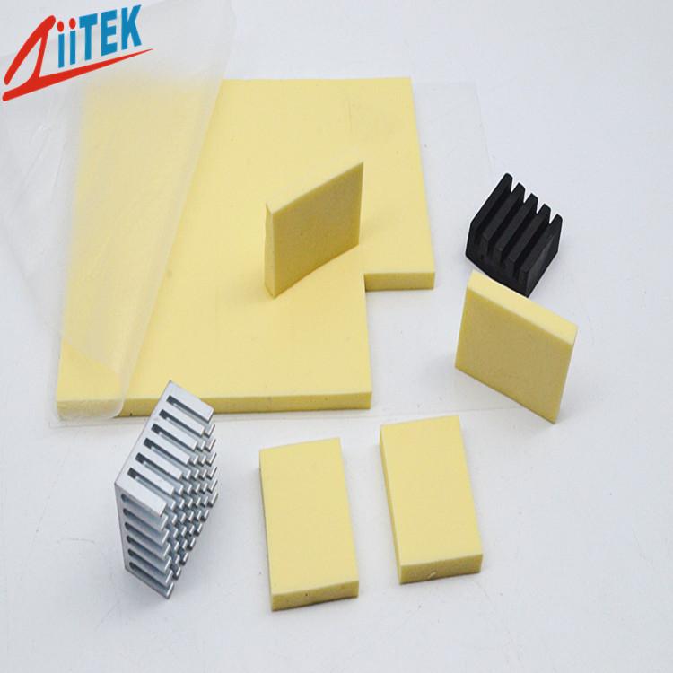 不同功率电感模块对导热硅胶片散热需求