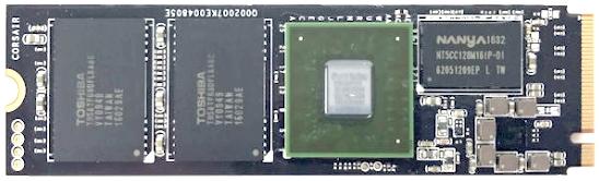 实际M2 SSD成品图