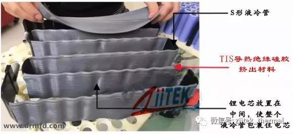 导热绝缘硅胶挤出材料