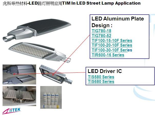 大功率LED照明产品的散热设计与导热材料的选择!