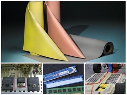 导热绝缘材料应用于电子产品的小贴示