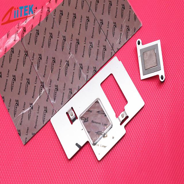 相同导热系数,导热膏和导热矽胶片该如何选择呢?