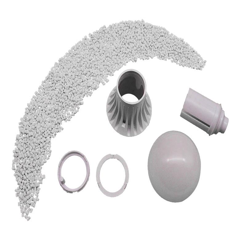 LED灯具外壳散热,小编科普为什么选择导热塑料。