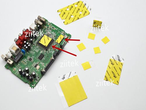 LED导热硅胶片的运用