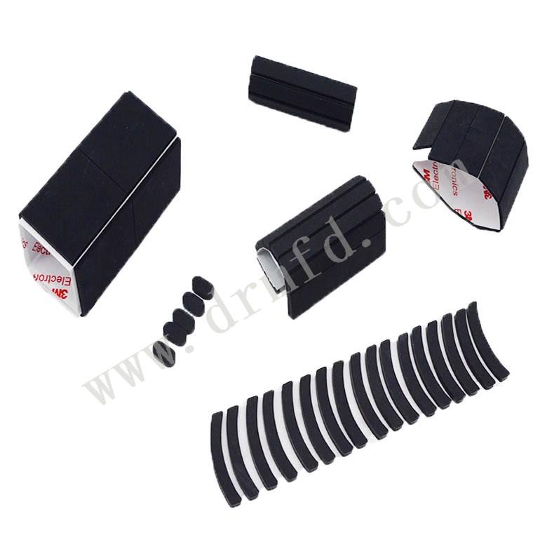 黑色硅胶垫 大