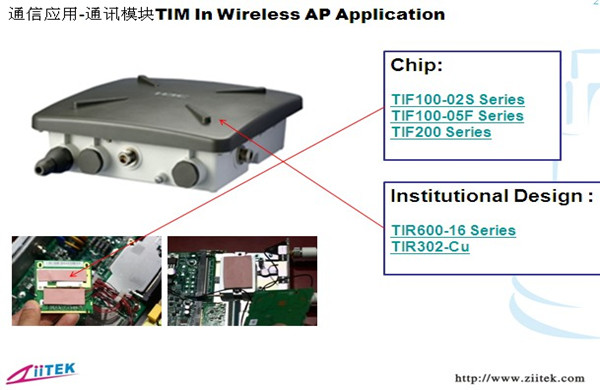 导热材料-通讯模块应用_副本大