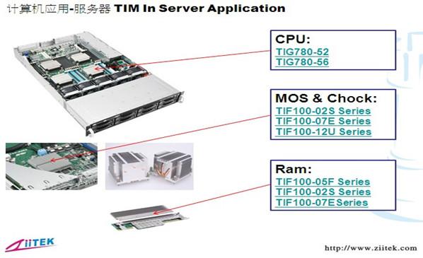 兆科导热硅脂|导热硅胶片在计算机TIM服务器的应用
